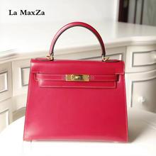 2017 Cowhide luxury brand runway women tote handbag 100 handmade top quality CL702178