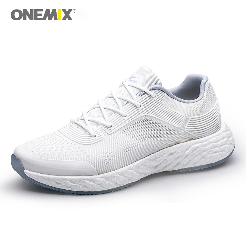 ONEMIX 2019 Energy Running Shoes For Men High-tech Sneakers Energy Drop Marathon Running Super Light Rebound-58 Outsole Sneakers