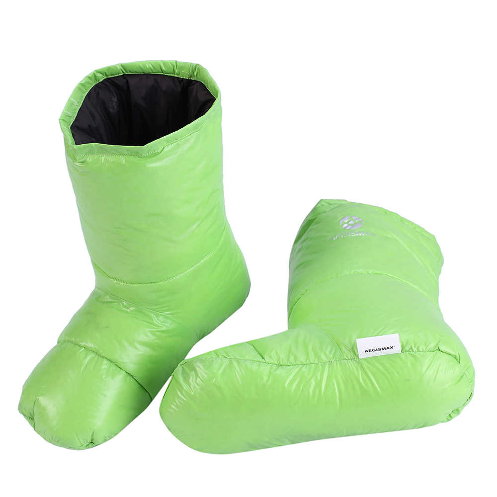 AEGISMAX Down Booties Down Socks Warm