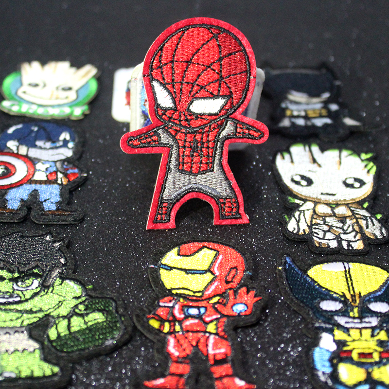 Good quality and cheap patches for clothing marvel in Store
