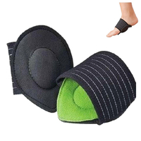 CUSHIONED ARCH FOOT SUPPORT ~ Helps Decrease Plantar Fasciitis Pain 1 Pr
