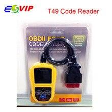 5pcs/lot DHL Free Car Code Reader Scanner T49 Scanner Leagend T49 OBD2 Scanner/Auto Basic Auto Diagnostic Tool