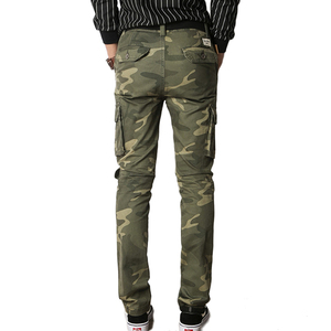 Image 3 - Vomint New Men Fashion Military Cargo Army Pants Slim Regualr Straight Fit Cotton Multi Color Camouflage Green Yellow V7A1P015
