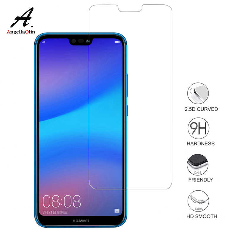 TOP 9H tempered glass For Huawei P10 P20 lite P8 P9 2016 2017 P Smart Honor 10 9 Mate Pro screen protector film case 2.5D P20