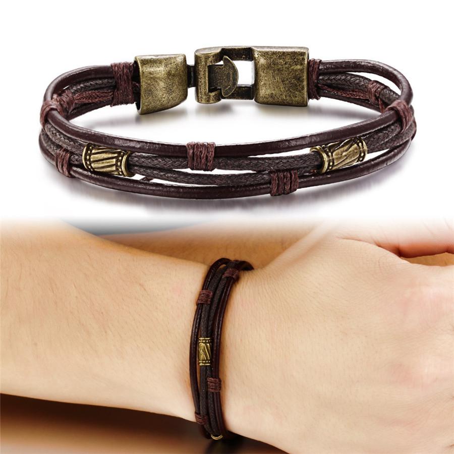 OPK-Fashion-Multi-Layer-Genuine-Leather-Man-Bracelets-Casual-Sporty-Easy-Alloy-Hook-Link-Chain-Men (1)