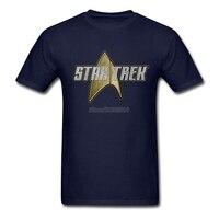 Star Trek T Shirt Custom Short Sleeve Tshirt Men Fashion Boyfriend Cotton 3XL Mens T Shirts