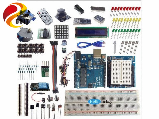 DOIT Starter kit DIY Electronics Development Board Robot Car Tank Learning Suit MCU 328p DIY Toys due development board atsam3x8e microcontroller arm cortex m3 learning board uno r3 diy kit rc electronic toy robot mcu