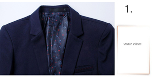 Image 5 - Mwxsd brand Mens casual slim fit solid suit Blazer jacket men wedding dress blazer male black suit hombre blazer masculino