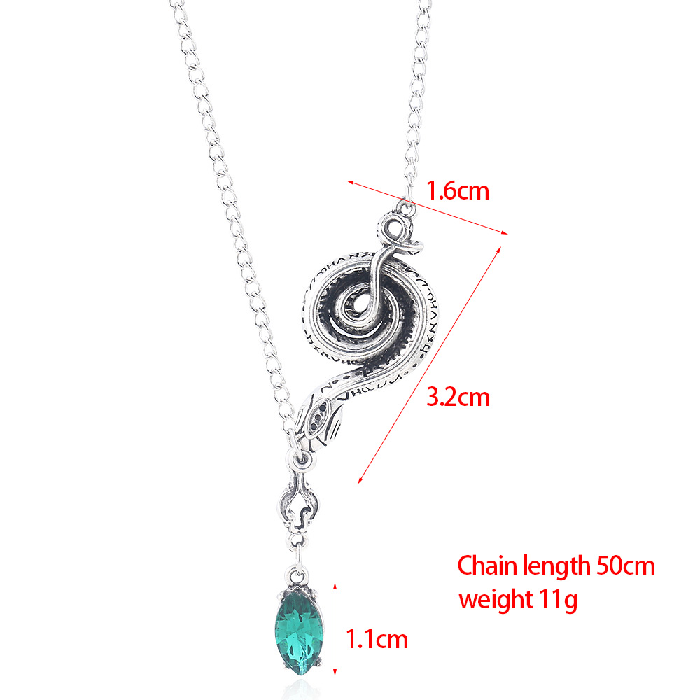 Royal Lion Silver Heart Necklace Owl Love
