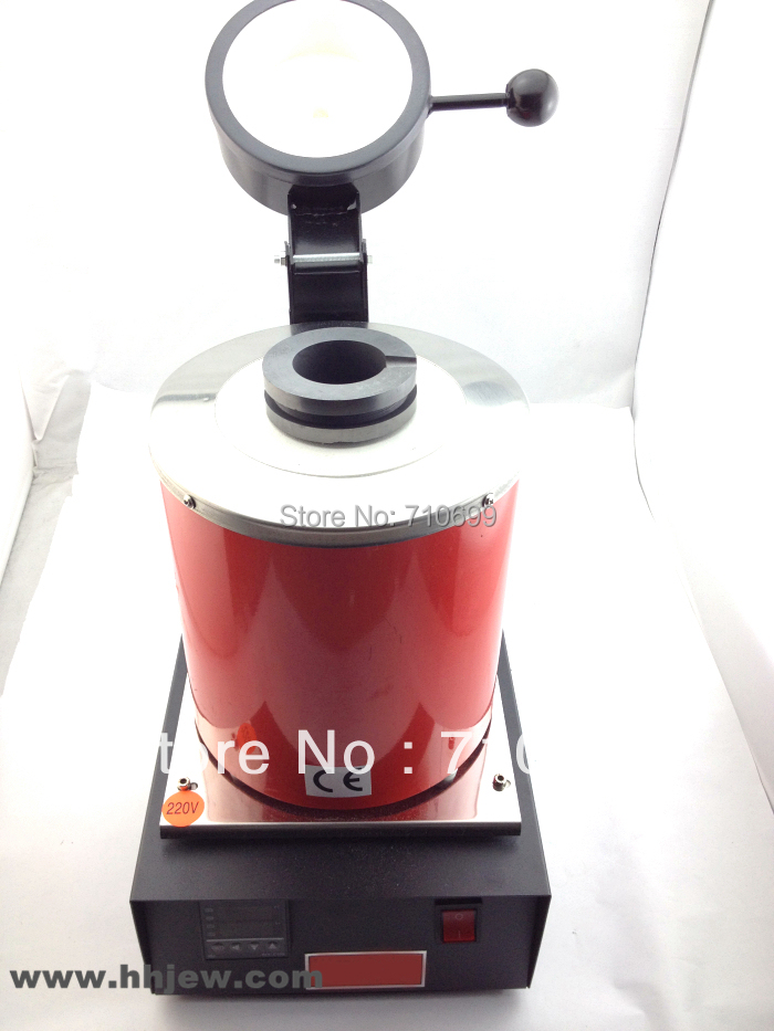 Electric Jewelry Melting Furnace 1KG/2KG/3KG, Aluminum, Copper, Gold, Lead, Silver, Induction melting ovan furnace gold melting furnace machine 1kg casting refining precious metals melts gold silver copper tin aluminum