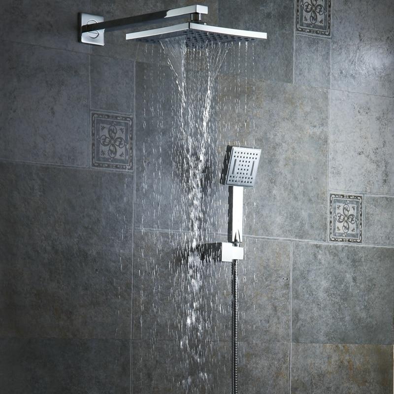 Waterfall Shower Head with Handheld