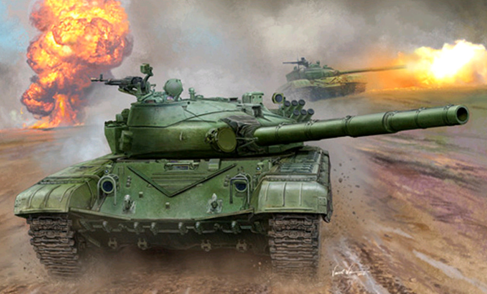 1pcs Figure Model Collections Kit For Trumpeter 00924 1/16 Scale Russian T-72B Main Battle Tank Plastic Model revell model 1 25 scale 85 7457 69 camaro z 28 rs plastic model kit