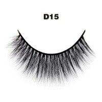 Hot 1Pairs Sexy 100 Mink Hair Natural Thick Handmade False Fake Eyelashe 3D Beauty EyeLashes Makeup
