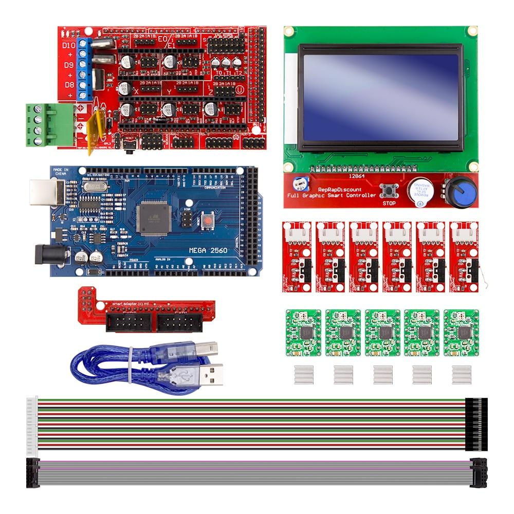 Cnc d printer kit for arduino mega r ramps