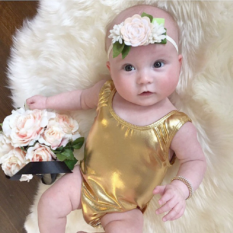 New born Infant Baby Girl Back Sleeveless Big Bowknot Romper Outfits Clothes 0-2T