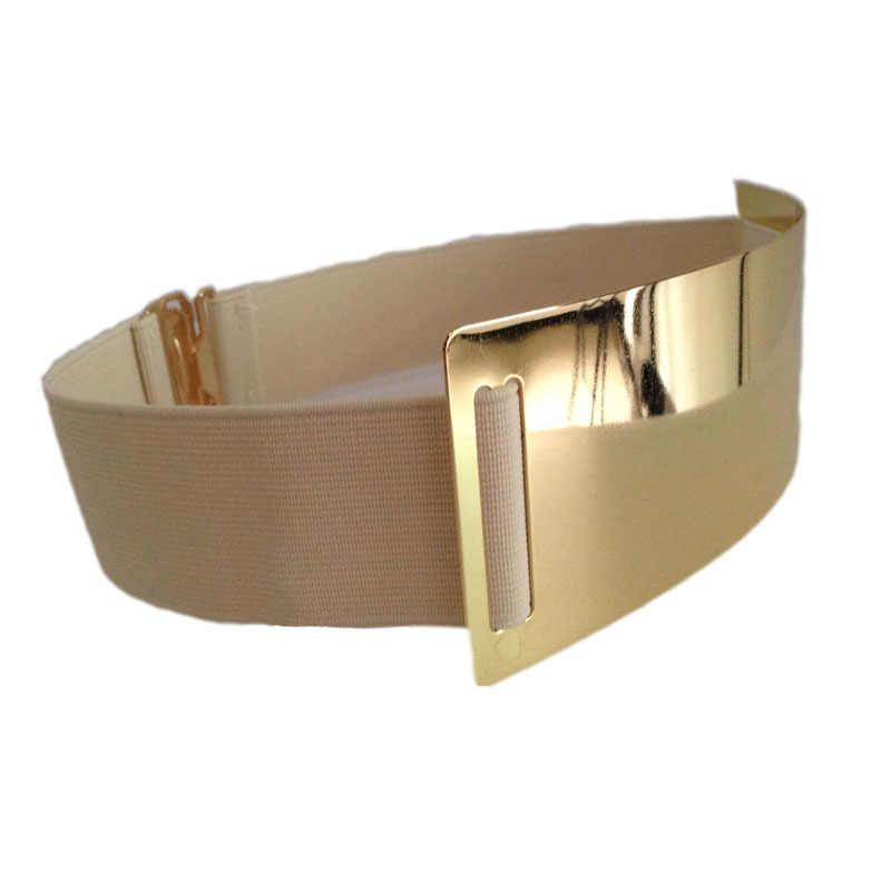 Heißer Designer Gürtel für Frau Gold Silber Marke Gürtel Classy Elastische ceinture femme 5 farbe gürtel damen Bekleidung Zubehör bg-1368