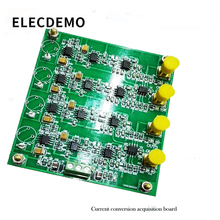 Photodiode amplifier current conversion acquisition board four way amplification filter