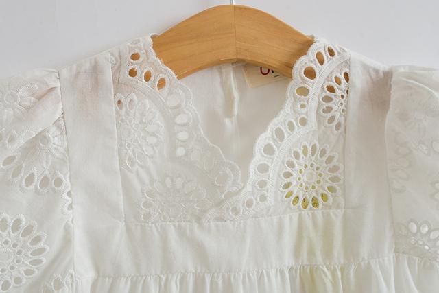 Cotton Lace Girl Dress