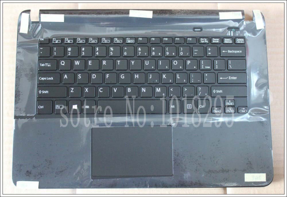 NEW laptop keyboard for sony vaio SVF14 SVF1421S1E SVF1421TST SVF1421UST keyboard Backlit with frame Palmrest Touchpad Cover