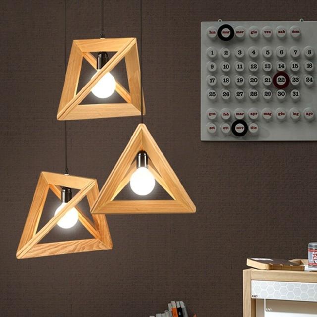 1 Pc Eco Nordic Ikea Wood Diy Handmade Diy Pendant Light Rh Loft Art