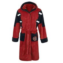Cartoon Deadpool Costumes coral velvet  Bathrobe pajamas Leisure wear Fit party European size Free Shipping