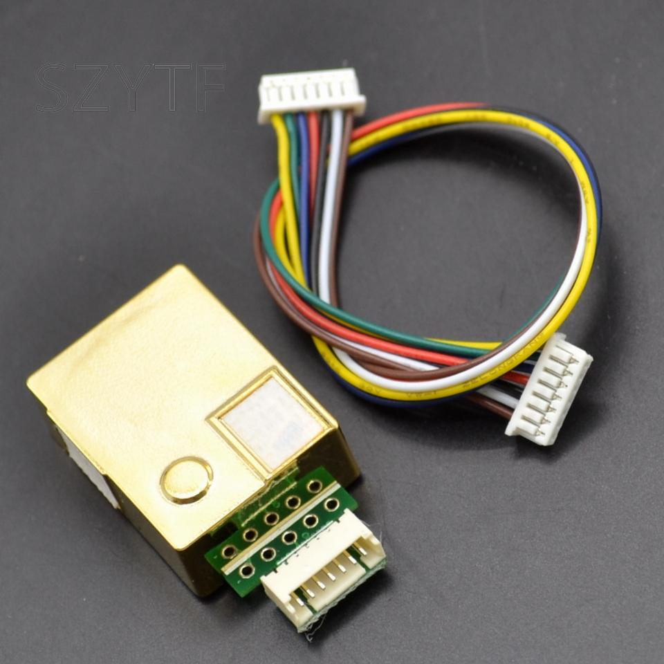 MH-Z19 infrarrojos co2 sensor co2 dióxido de carbono del monitor sensor UART serie PWM salida 0-5000PPM 0-2000PPM 0-10000PPM
