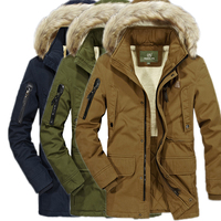 Fur Collar Hooded Men Winter parkas New Fashion Warm cashmere Liner Man zipper Jacket and Coat Windproof casaco plus size XXXXXL