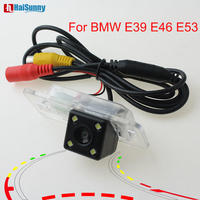 Car Parking Camera Dynamic Line Reverse Backup Rear Camera For BMW E39 E53 E46 With Night Vision 170 View Angle