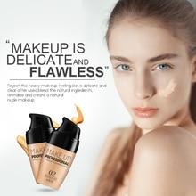 Laikou база для макияжа лица Жидкий тональный крем консилер Осветляющий праймер легко носить мягкая сумка BB крем Водонепроницаемый прочного