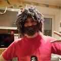 Wig Beard Hats Handmade Knit Warm Winter Caps Men Women Gift Party Mask Beanies Hobo Mad Scientist Rasta Caveman Hat BZ986723