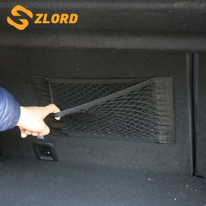 Car Trunk Content Bag Storage Network Nets for Lada Granta Kalina for HYUNDAI Solaris for VW Polo Jetta for Skoda Octavia Fibai