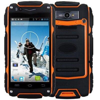 D'origine Guophone V8 3G Smartphone Android 4.4 MTK6572 Dual Core GPS Antipoussière Mobile Téléphone Téléphone Portable