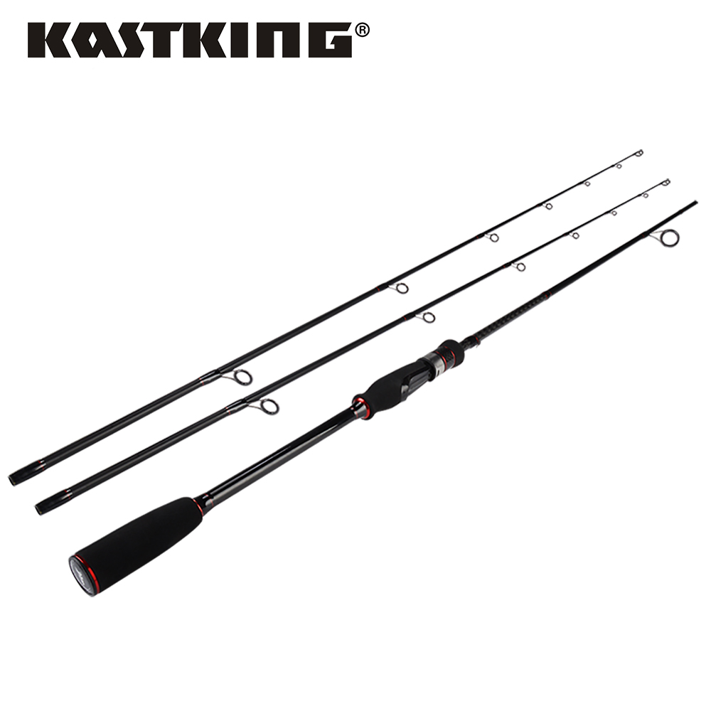 KastKing Geminus 2 Pieces Spinning Casting Fishing Rod with Ceramic Guides EVA Handle for Lure Rod