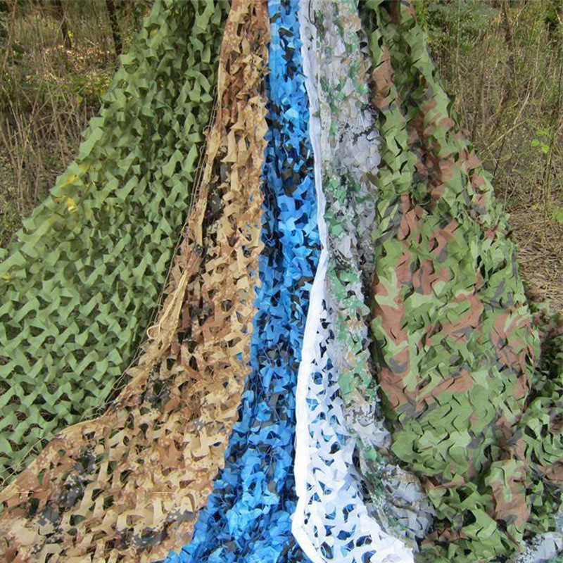3X6M 2 Layer Camouflage Net Military Outdoor Camping Hunting Camo Netting Garden Wedding Party Decoration Balcony
