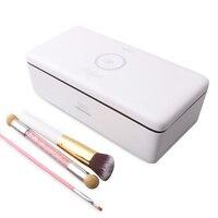 UV Sterilizer Box 59S Sterilizer Nail Art LED UV Disinfection Box Nail Tool Storage Makeup Manicure Brushes Beauty Salon Tools