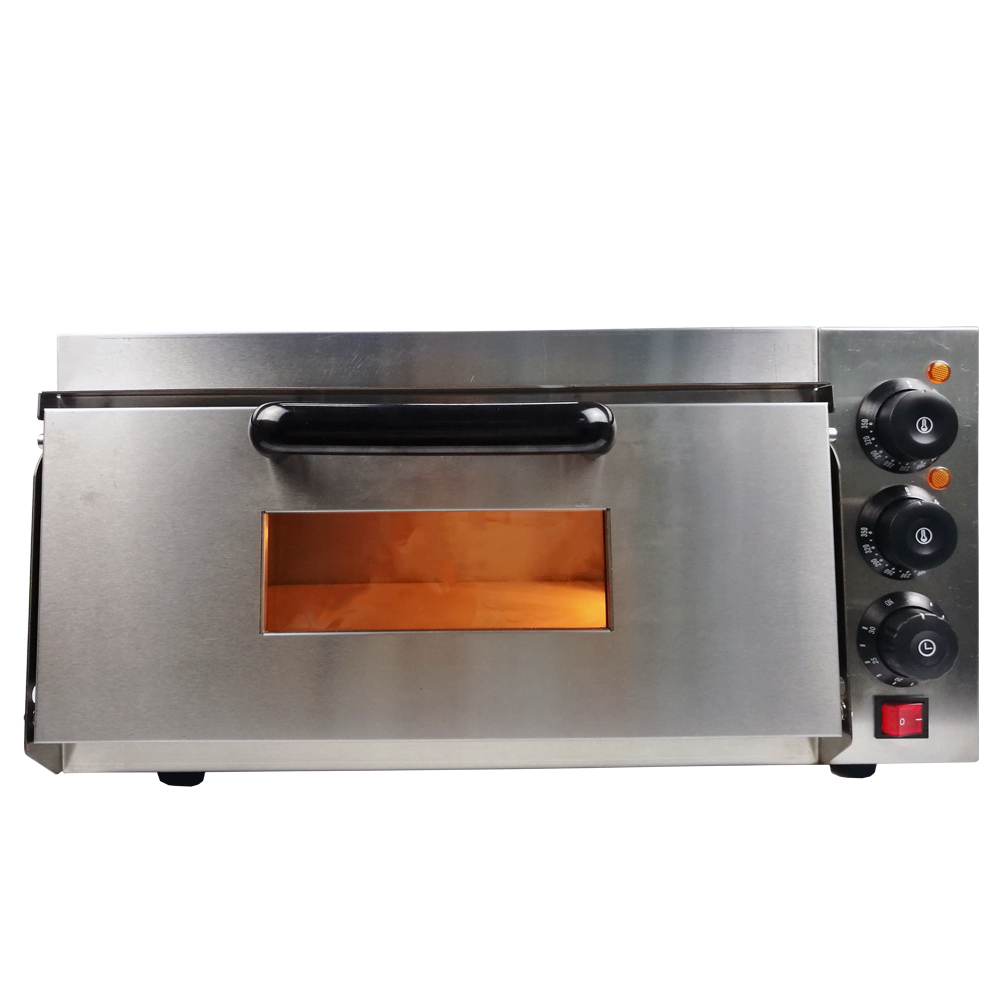 Commercial Electric Pizza Oven Multifunctional Single Deck Cake Roasted Chicken Pizza Cooker Catering Kitchen Baking Equipment