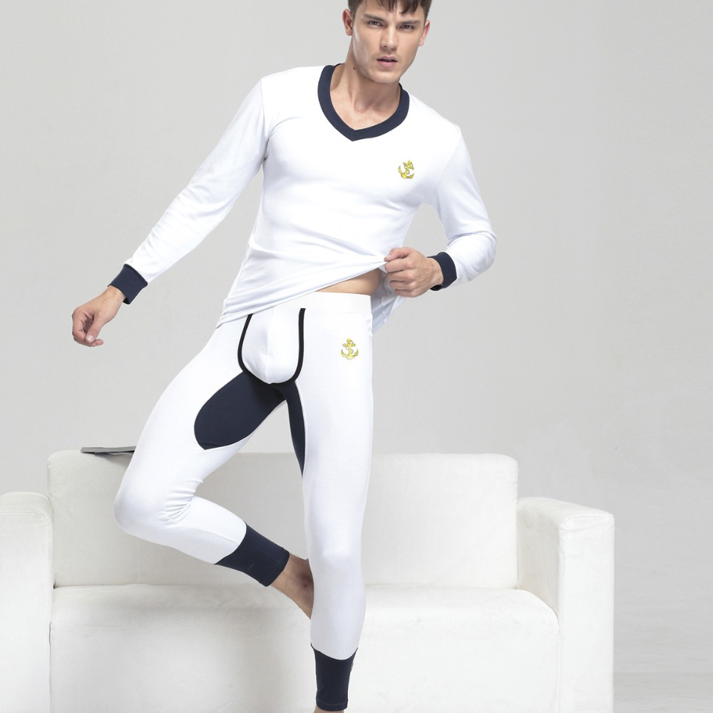 2016 new cotton autumn winter men 39 s thermal underwear. Black Bedroom Furniture Sets. Home Design Ideas