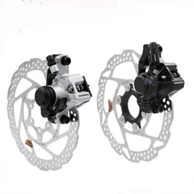 ed4fbd46f76 New Shimano BR-M375 M416 bike bicycle Mechanical Disc Brake Calipers set