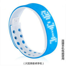 Waterproof smart watch vibration alarm clock personalized sports hand ring led electronic watch