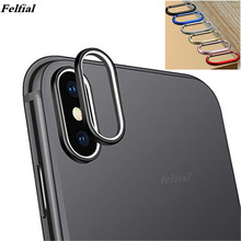 NEWEST Camera Screen Protector For iPhone XSMAX XR XS X Rear Back Camera Protector Protective Lens Case Ring Cover
