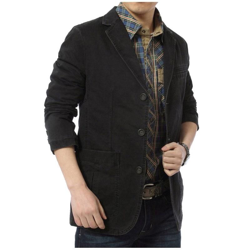 87923ed8de 2017 nueva llegada ropa de marca de los hombres chaquetas Color Beige M ~ 4XL  abrigo Slim Fit chaqueta Casual chaqueta abrigos ropa de manga larga en ...