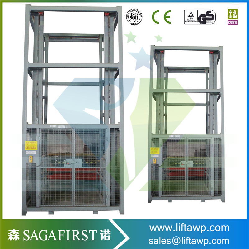 Heavy Duty Hydraulic Cargo Material Lift