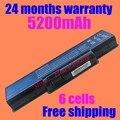 Jigu nova 6 células laptop bateria g625 g627 g630 g725 g630g as09a56 as09a70 para acer emachines e525 e625 e627 e630 e725 g430 G525