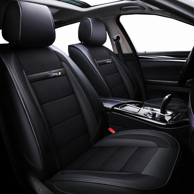 New Luxury leather Universal car <font><b>seat</b></font> <font><b>cover</b></font> for <font><b>Mazda</b></font> All Models CX5 CX7 <font><b>CX9</b></font> MX5 ATENZA <font><b>Mazda</b></font> 2/3/5/6/8 car styling auto styling image