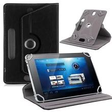 10 Inch Case Crystal Pattern Tablet Holder Universal Leather For Rotating Stand Protective