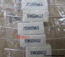 5 Вт 680 r цемент 680 ом резистор 10 ШТ.