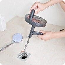 Туалет канализационный забиватель длинная линия металлический пружинный крючок 5 м Кухня Ванная раковина труба слив очиститель трубопровода удаление волос душ