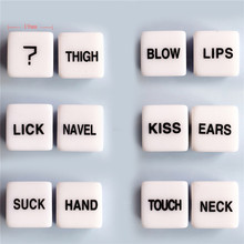 Экзотические аксессуары БДСМ бондаж игральные кости для любовных позиций Женская трубка взрослые секс игрушки для пар светящиеся игры Вечеринка клуб