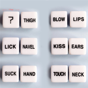 Image 1 - Exotic Accessories Bdsm Bondage Dice Love Positions Erotic Craps Pipe Adults Sex Toys For Couples Noctilucent Games Party Club