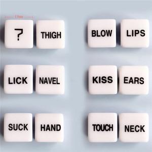 Dados de Bondage Bdsm, accesorios exóticos, posiciones de amor, pipas, Juguetes sexuales para adultos, juegos noctilucentes, Club de fiesta